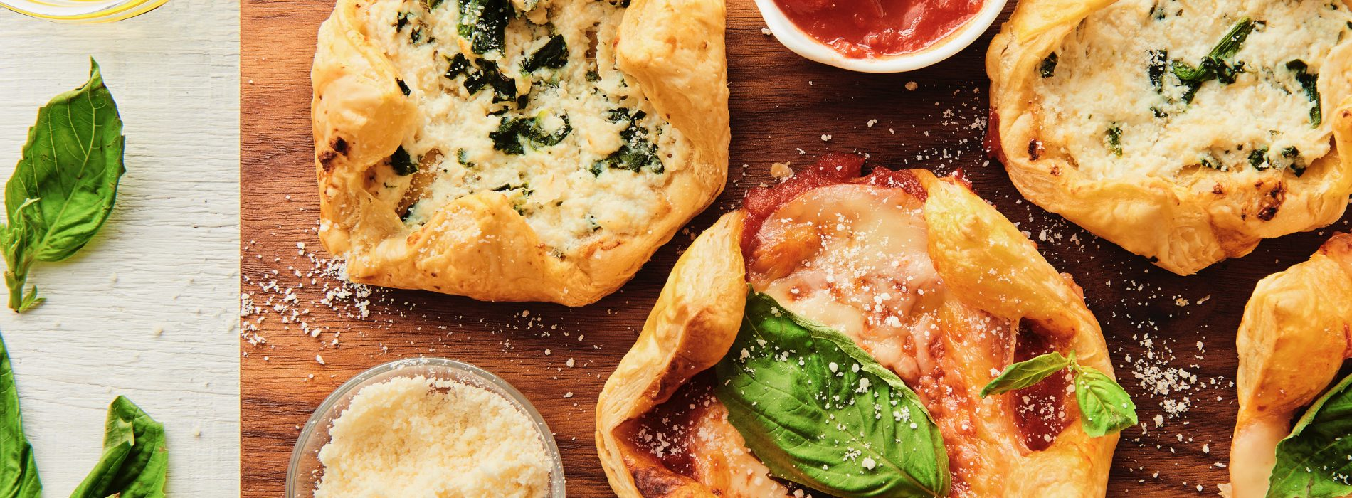 Puff Pastry Pizzas
