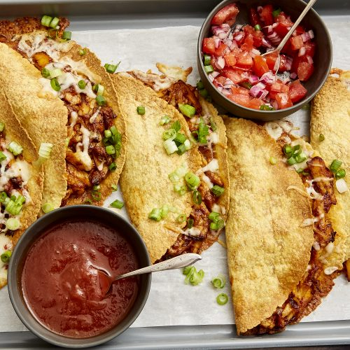 Sheet Pan Chicken Tacos