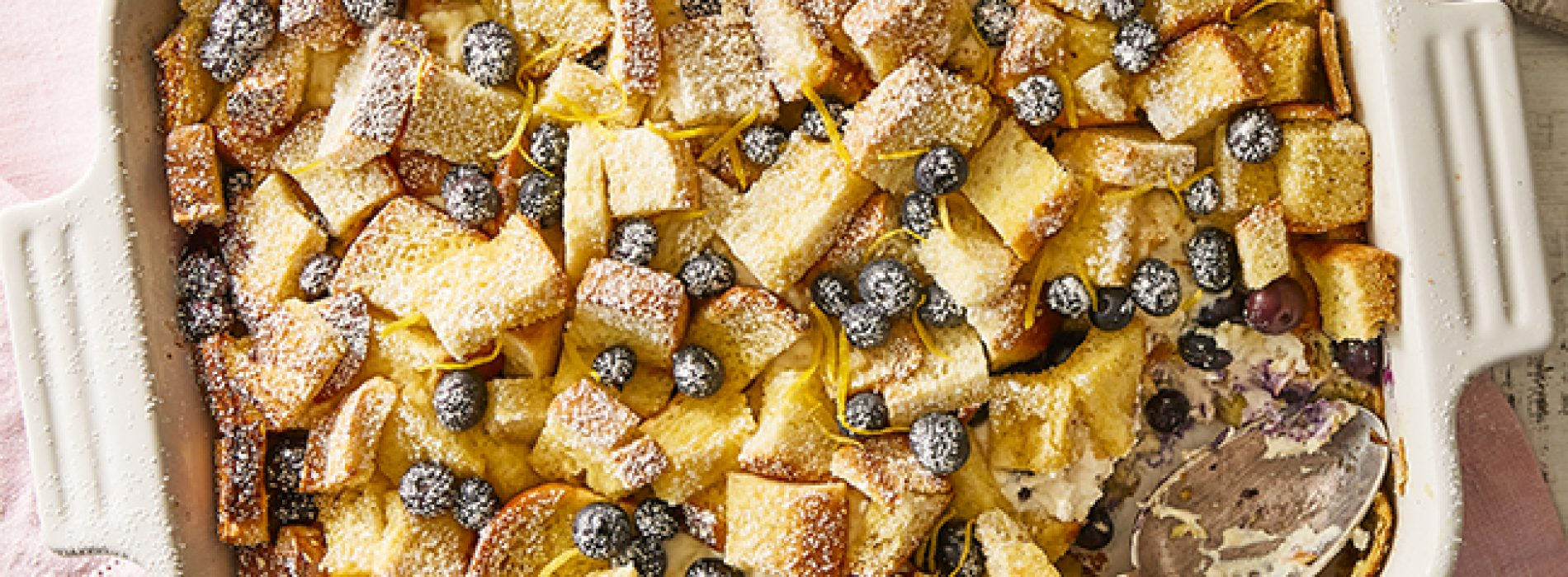 Baked Blueberry Cheesecake French Toast